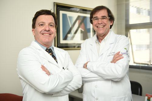 Dr. João Galantier Cirurgião Cardíaco e Dr. Ivo Ritcher Cirurgião Cardíaco